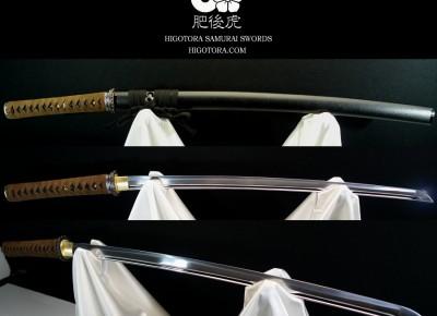 オーダーメイド模擬刀・肥後虎 標準刀 2尺1寸 真剣鞘仕様