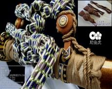 太刀拵用の吊り革(太刀拵用・吊り革・鹿革製)
