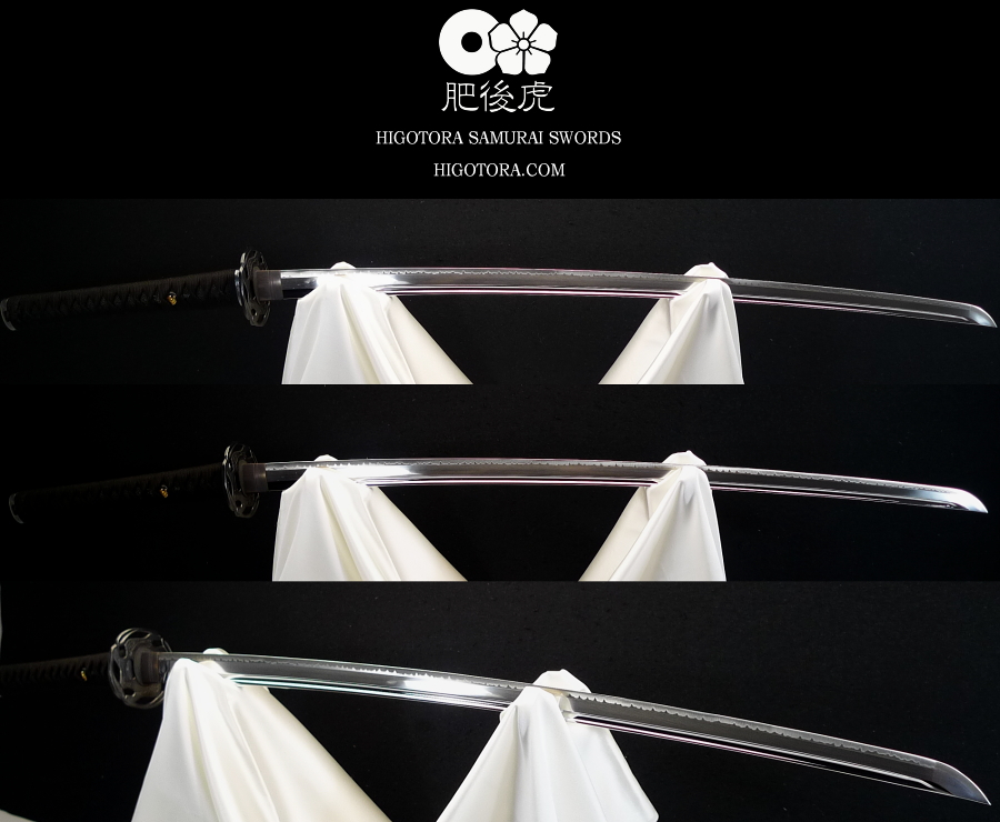 肥後虎 標準刀 中級拵 ベース・セミ・オーダーメイド製作例