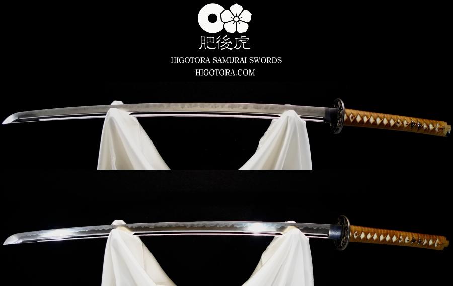 本職研師による模擬刀・刃紋リメイク・刃紋付け直し施工例